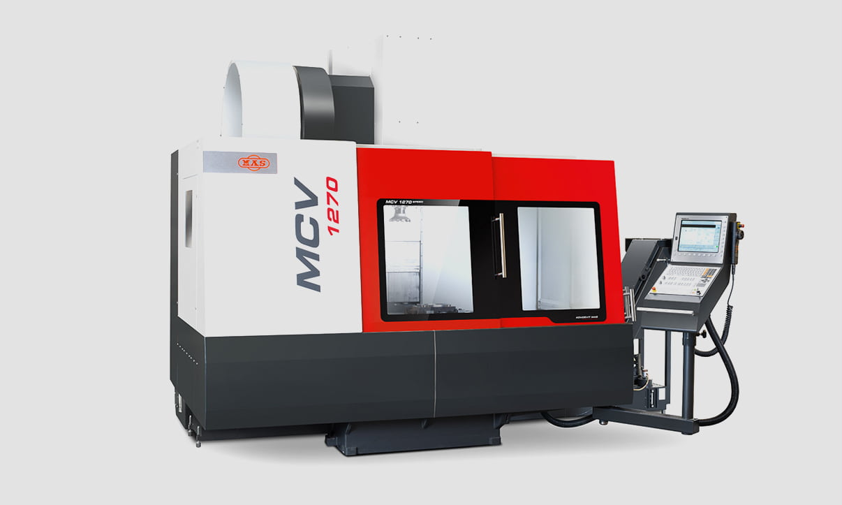 Nové CNC<br> obráběcí centrum MAS MCV 1270 SPEED